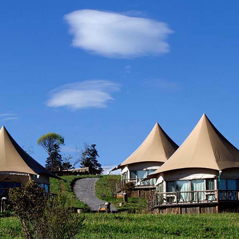 Long service life hotel luxury resort tent