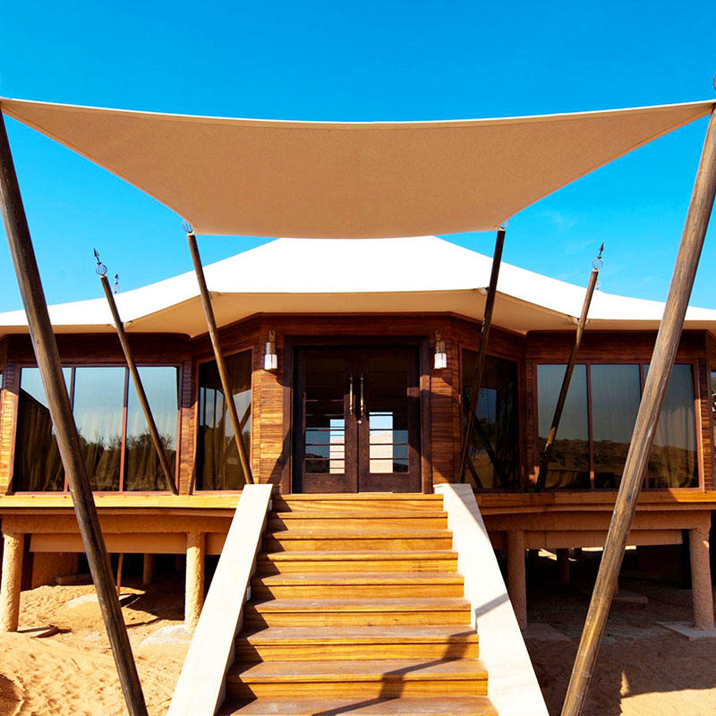 Ultra-high strength luxury tents hotel for resort