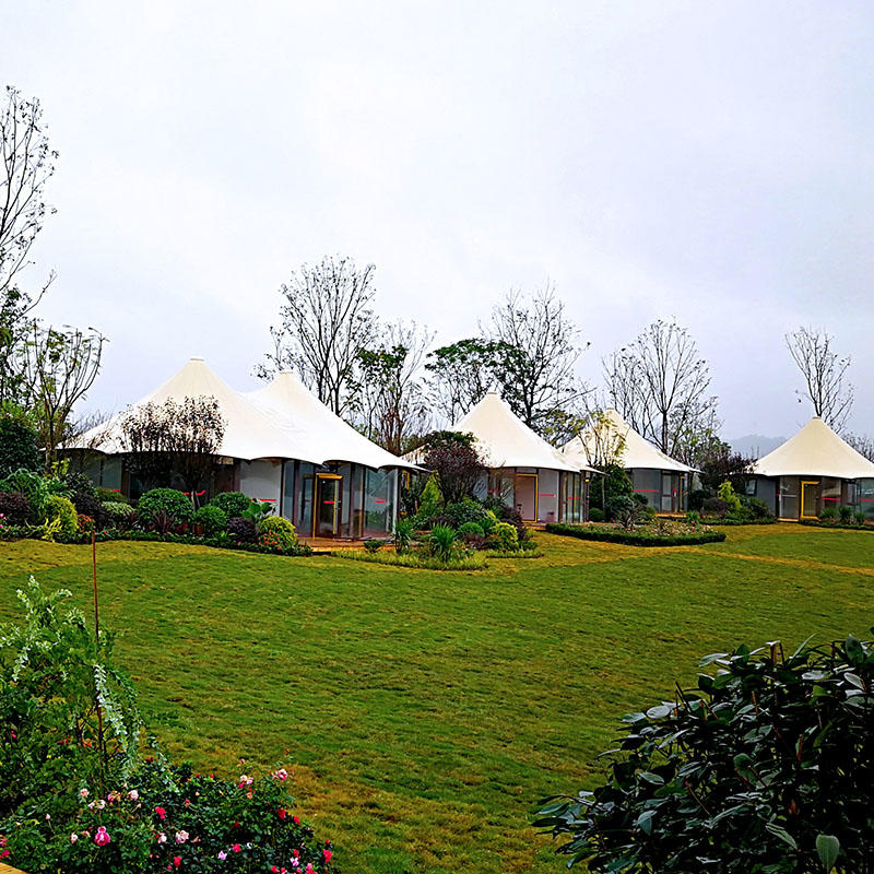 Resort hotel tents-super weather resistant