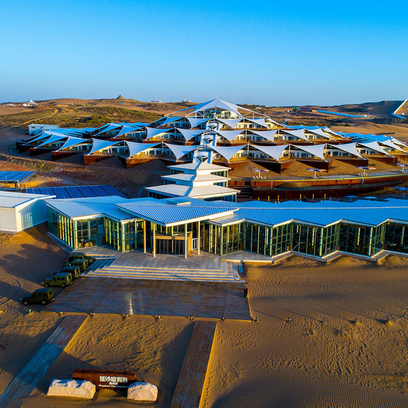 Glamping luxury hotel resort tent with strong environmental adaptability