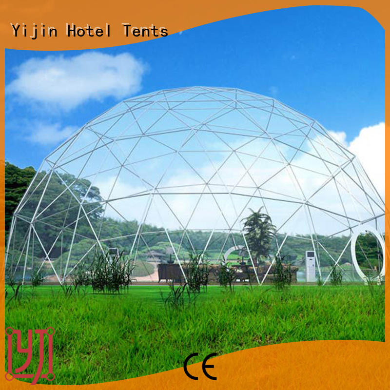 Yijin Hotel Tents dome tents for sale OEM for resort