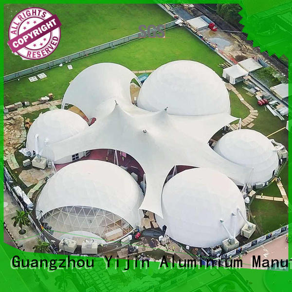 custom dome tents for sale UV-resistant at discount for hotel