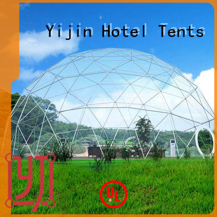 Yijin Hotel Tents factory direct price glamping domes for sale for hotel