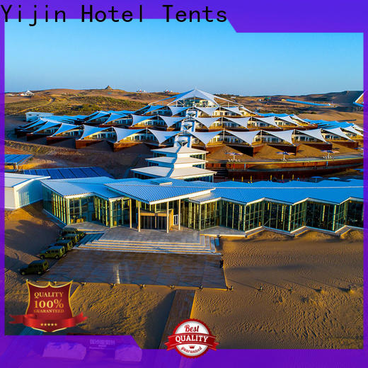 Yijin Hotel Tents strong adaptability eco resort tents fast delivery for living