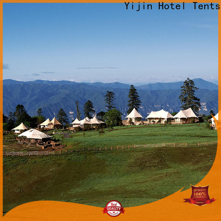 Yijin Hotel Tents environmental eco resort tents fast delivery for hotel